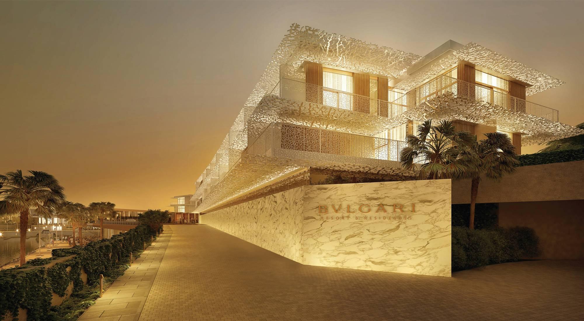 Первый отель под брендом Bulgari в Дубай!